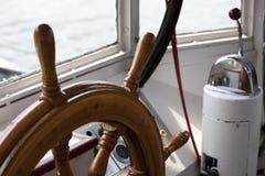 Vista parcial de un volante Fotografía de archivo