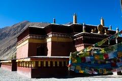 Vista parcial do templo de Tuojiasi Fotos de Stock Royalty Free