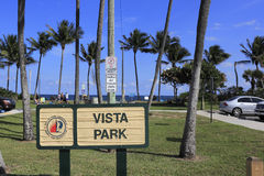 Vista Park Stock Image