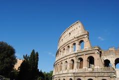 Vista parziale del Colosseum. Roma fotografia stock