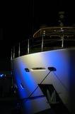 Vista parziale dell'yacht del partito in spiaggia del sud Fotografia Stock Libera da Diritti