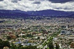 Vista parziale della città di Cuenca, Ecuador Fotografia Stock Libera da Diritti