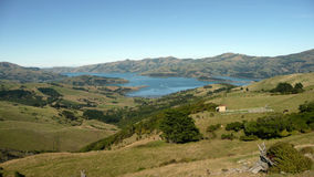Vista perfeita do vale Fotografia de Stock
