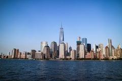 Vista perfetta di Manhattan Immagine Stock
