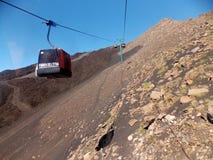 Vista perfetta, Etna fotografie stock libere da diritti