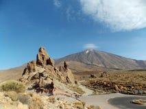 Vista perfetta, Teide, Tenerife fotografia stock