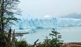 Vista Perito Moreno del ghiacciaio Fotografie Stock