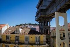 Vista personal de Lisboa imágenes de archivo libres de regalías