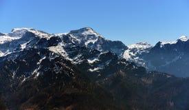 Vista perto do monte de Kasberg Fotografia de Stock