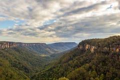 Vista piacevole del paesaggio della valle del canguro, Australia fotografia stock libera da diritti