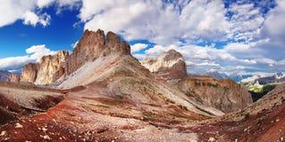 Vista piacevole delle alpi italiane Immagini Stock Libere da Diritti