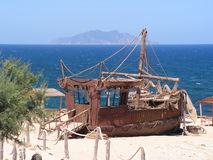 Vista piacevole in EL Haouaria Fotografia Stock
