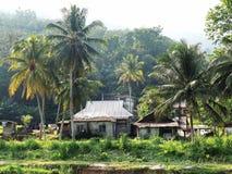Vista piacevole nel villaggio Immagini Stock Libere da Diritti