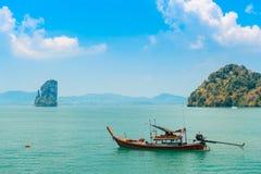 Vista pintoresca del mar tranquilo imagen de archivo libre de regalías