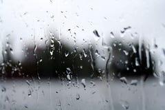 Vista piovosa di Helsinki Immagine Stock