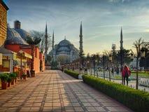 Vista pittoresca a Costantinopoli Immagine Stock