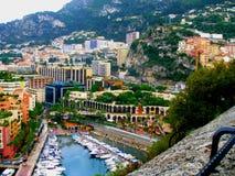 Vista pittoresca della città Immagine Stock