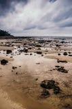 Vista pittoresca della spiaggia Fotografie Stock