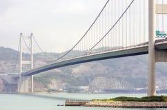 Vista, ponte e barca del mare Immagini Stock Libere da Diritti