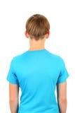 Vista posterior del adolescente Imagen de archivo libre de regalías