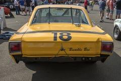 Vista posterior del coche de carreras del dardo de Dodge Imagen de archivo libre de regalías
