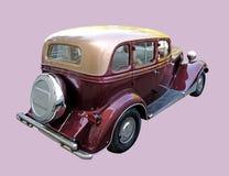 Vista posterior del coche retro de los años 30 Fotos de archivo libres de regalías