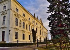 Chateau Zidlochovice Fotografia Stock
