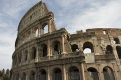 Vista próxima do Colosseum, Roma foto de stock