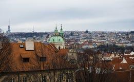 Vista a Praga Foto de archivo