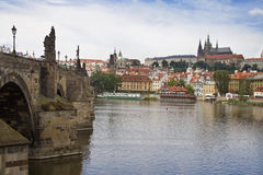 Vista of Prague Stock Photography