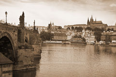 Vista of Prague Royalty Free Stock Image
