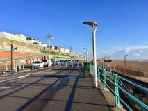 Vista preciosa de la nave en el centro turístico de Brighton Pier foto de archivo
