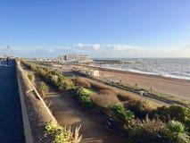 Vista preciosa del centro turístico de Brighton Pier imagen de archivo libre de regalías