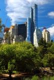 Vista principale dell'hotel di Jw Marriott Essex in NYC Fotografia Stock Libera da Diritti