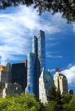 Vista principale dell'hotel di Jw Marriott Essex in NYC Fotografia Stock