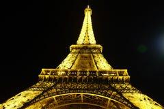 Vista privilegiada de la torre Eiffel fotografía de archivo libre de regalías