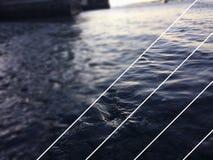 Vista pubblicata dell'acqua fotografie stock