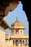 Vista quadro de Musamman Burj no forte de Agra, Uttar Pradesh, Índia Foto de Stock