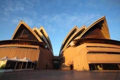 Vista que da cara al Norte del teatro de la ópera de Sydney fotografía de archivo
