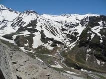 Vista rara dos Himalayas Fotos de Stock
