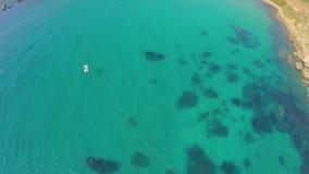 Vista a?rea de la costa de mar pintoresca Malta