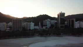 Vista a?rea de Rio de Janeiro, el Brasil metrajes