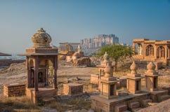 Vista reale di Mehrangarh Fotografia Stock