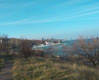 Vista regione di Odessa, Odessa del mare Immagine Stock Libera da Diritti