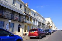 Vista Regno Unito della via di Hastings Fotografie Stock Libere da Diritti