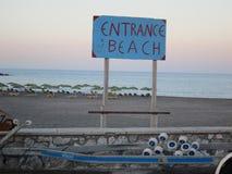 Vista romantica di Santorini Fotografia Stock Libera da Diritti