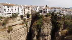 vista Ronda-bonita panorâmico da Ronda-Espanha Fotos de Stock Royalty Free