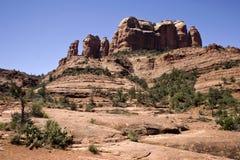 Vista rossa scenica della roccia di Sedona Immagine Stock Libera da Diritti