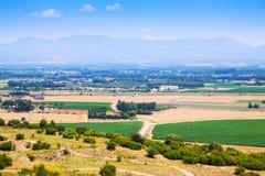 Vista rurale del comarca dell'alt Emporda Fotografia Stock Libera da Diritti