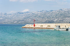 Vista sbalorditiva in Croazia Immagine Stock